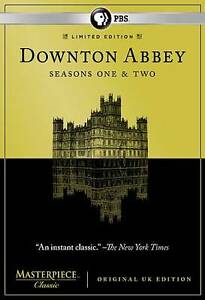 Masterpiece Classic: Downton Abbey - Seasons One & Two (DVD, 6 Disc) New