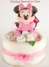 Disney Toy 1 Tier Baby Nappy Cake - Perfect Baby Shower Gift Boy/ Girl