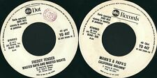 FREDDY FENDER / MAMA'S & PAPA'S  – WASTED DAYS AND WASTED NIGHTS / CALIFORNIA..