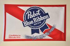 PBR Pabst Blue Ribbon Banner Flag 3' x 5' feet PBR - MINT CONDITION