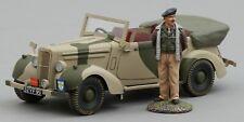 THOMAS GUNN WW2 AMERICAN GB011C ALLIED STAFF CAR DESERT VERSION WITH MONTY MIB