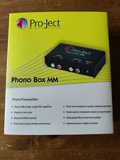 Pro-Ject (Project) Phono Box MM Pre-Amplifier - Black : New in box