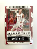 2020 Panini Contenders Draft Picks Trae Young #23 Basketball Card