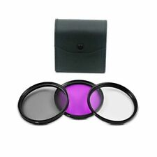 Bower 77mm Digital Filter Kit (UV-CPL-FLD) For Nikon Coolpix P1000