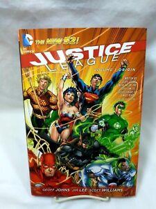 Justice League - Origin Vol. 1 by Geoff Johns (2012, Hardcover) BOOK VERY GOOD