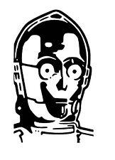 StarWars C3PO vinyl Decal / Sticker