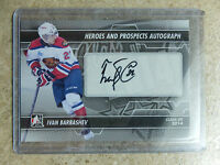 13-14 ITG H&P Heroes Prospects Autograph #A-IB IVAN BARBASHEV
