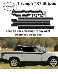 Triumph TR7 Stripes Remake of original style