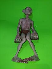 """Lord Of The Rings Gollum 10"""" Action Figure, 2003 Marvel ToyBiz Smeagol Toy"""