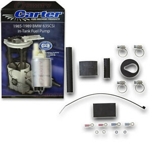 Carter In-Tank Electric Fuel Pump for 1985-1989 BMW 635CSi 3.5L L6 Air jx