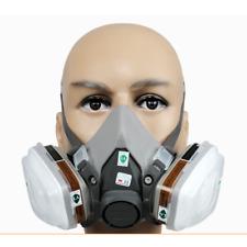 3M Atemschutz Halbmaske Gasmaske 6200 Staubmaske Lackiermaske mit Wechselfiltern