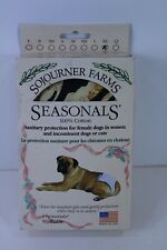 Seasonals Washable Dog Diaper Size X-Large 95 - 120lbs Tiger Pattern
