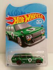 Hot Wheels 71 Datsun Bluebird 510 Wagon Green Walmart Tour Exclusive HTF