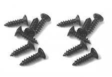 12 Pickguard Mounting Screw BLACK 4 Fender Gibson Ibanez Guitar Bass Back Plate