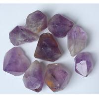 500g Bulk Tumbled Stone Amethyst Quartz Crystal Healing Reiki Mineral Free Pouch