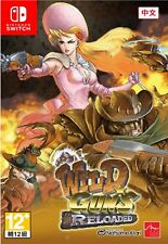 Wild Guns Reloaded Chinese/Japanese/English Switch NEW