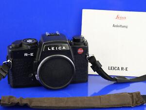 Leica R-E  #1705521 RE, Lichtdichtungen neu, TOMS-CAMERA-LADEN Ankauf/Verkauf