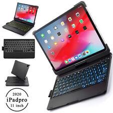 """For Apple iPad Pro 11"""" 2020 & 2018 Wireless/BT Keyboard Case - Auto Sleep Wake"""