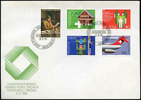 Switzerland 1981 Publicity Issue FDC First Day Cover #C23994