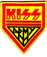 KISS ARMY VINTAGE IRON ON SEW ON PATCH  NO LONGER MADE. Original tour 80's patch