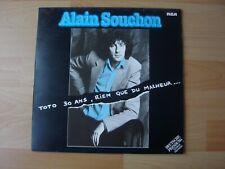 ALAIN SOUCHON LE BAGDAD DE LANNBIHOUE 1976 ALBUM 33T DISQUE VINYL
