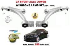 für Alfa Romeo 159 2005-2011 2 x VORNE LINKS+RECHTS UNTEN QUERLENKER QUERLENKER
