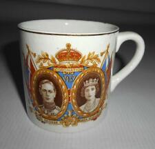 King George VI Coronation 1937 Commemorative Ceramic Cup Mug