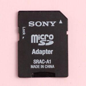 Genuine SONY Micro SD (MicroSD) to SD Memory Card Adapter [SRAC-A1]