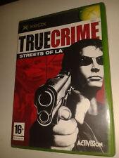 * Original Xbox Jeu * True Crime Streets of LA * X BOX