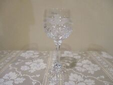"Vintage Galway Irish Crystal Claddagh Wine Glass  6 3/4"" (1pc)"