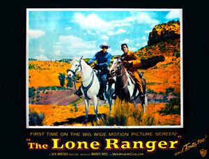 8x10 Print Clayton Moore Lone Ranger 1955 #343