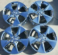 18 Toyota Camry Factory Oem Chrome Alloy Wheels Rims 2012 2014 18x7 12 69605 Fits 2011 Toyota Camry
