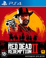 *NEW* Red Dead Redemption 2 (PS4, 2018) English,Russian,Ger,Spa,Ita,Fre,Pol,Por