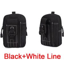 Outdoor Tactical Holster Military Molle Waist Belt Bag Purse Pouch Phone Case x1