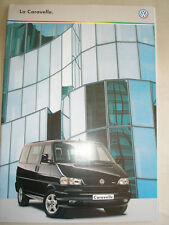 VW Caravelle brochure Sep 1998 Swiss market French text