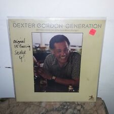 Dexter Gordon LP Generation-(Rare Orig.1st.Press.SEALED LP) W/Freddie Hubbard.