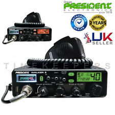 President Walker II ASC 40ch AM/FM Multi 7 Colour DIsplay CB Radio USB Charger