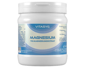 Tri-Magnesiumdicitrat Pulver - 500g Magnesium Pulver Magnesiumcitrat Pulver