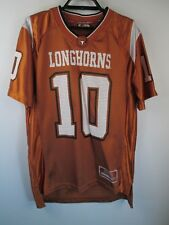 Texas Longhorns Jersey Youth Large Football Jersey  NCAA Colosseum #10