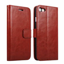 For iPhone 5 S SE 6 S 7 8 PLUS Case Luxury Leather Flip Wallet Stand Card Cover