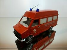 OLD CARS IVECO BRIGADE DE POMPIERS SAPEURS AMBULANCE - RED 1:43 - GOOD CONDITION