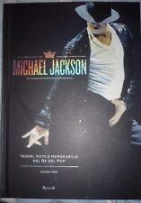MICHAEL JACKSON tesori, fotoe memorabilia del re del pop, libro nuovo
