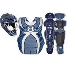 Under Armour Youth Girl's 9-12 Fastpitch Catcher's Gear Set - Navy