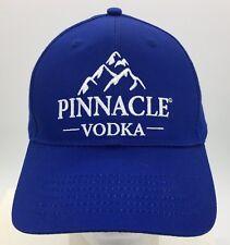 Pinnacle Vodka Embroidered Blue Snapback Hat Cap