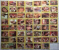 1971 Topps The Partridge Family Yellow Complete (55) Vintage Trading Card Set
