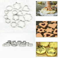 Cookie Cutter Star Stainless Steel Pastry Baking Mold Metal 12X Biscuit Craft