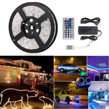 StripSun LED Strip Lights SMD 5050 Waterproof 16.4ft 5M 300leds RGB Color LED 5A