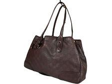 GUCCI Guccissima Leather Dark Brown Shoulder Bag GT2511
