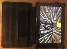 Amazon Kindle Fire 1st Generation D01400 (7 in.) with leather case BUNDLE