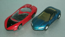 Two 1/64 Scale GM Diecast Concept Cars (Stingray III and Pontiac Banshee IV)